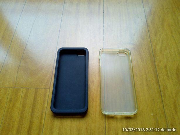 2 capas iphone 5 com portes incluidos