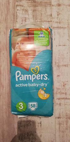 Памперси Pampers Active Baby dry 3
