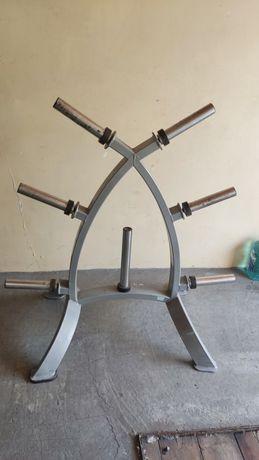 Подставка, стойка для хранения блинов штанги/гантелей Vasil Gym
