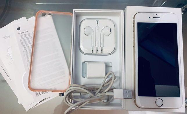 iPhone 6 16 Gb Gold Neverlock Touch-id работает