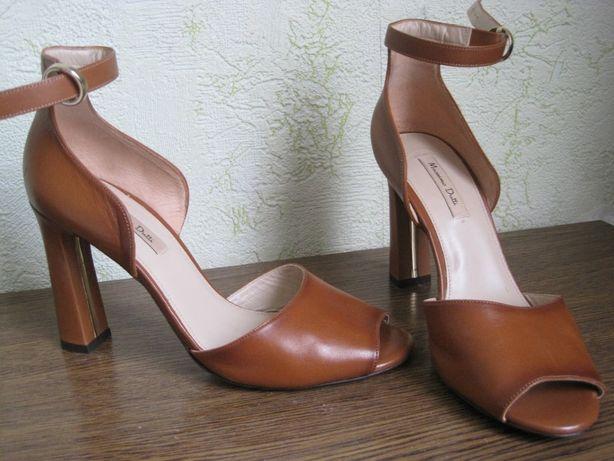 Босоножки женские Massimo Dutti кожаные