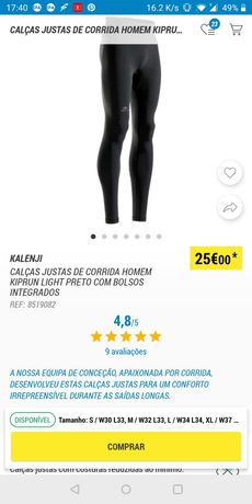 leggings corrida