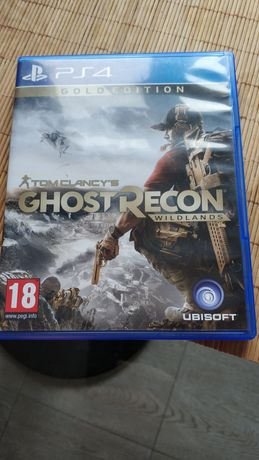 Ghost recon Wildlands Gold и Detroit Become Human диски ps4