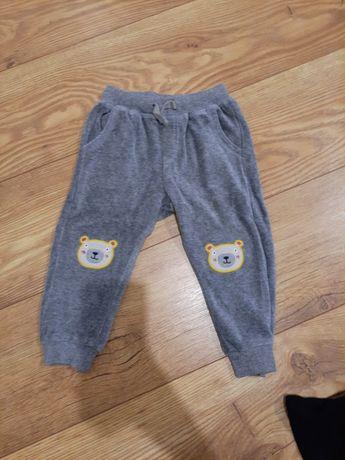 Welurowe spodnie Cool Club 86