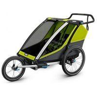 Przyczepka rowerowa Thule chariot cab 2 plus koło do biegania