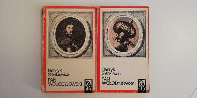 Pan Wołodyjowski. Henryk Sienkiewicz. 2 tomy
