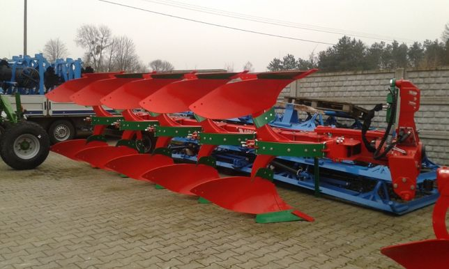 Pług Obrotowy Obracalny Resorowy AGRO-MASZ 3 4 5 Skibowy POR POV Vario