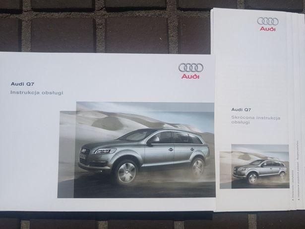 Instrukcja obsługi Audi Q7