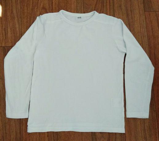 Белый реглан, рубашка для мальчика рост 122-128