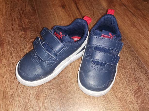 Buty dziecięce sportowe Puma, Adidas rozm. 22