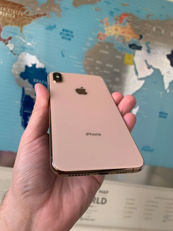 Apple Iphone XS Max 64gb Gold Neverlock Гарантия