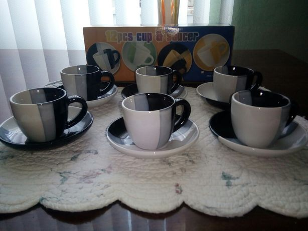 Набор кофейных чашек. Кофейный сервиз