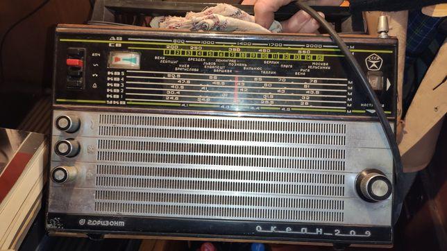 Радиоприёмник Горизонт Океан-209
