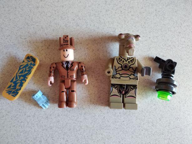 Ruchome figurki Roblox, Star Wars klocki z akcesoriami - Domino Roblox