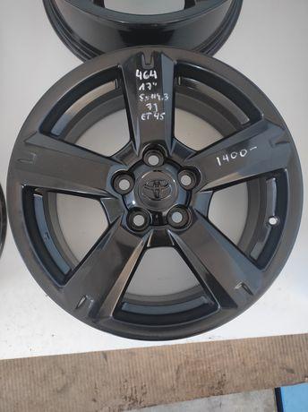 464 Felgi aluminiowe ORYGINAŁ TOYOTA R 17 5x114,3 IDEALNE Czarne