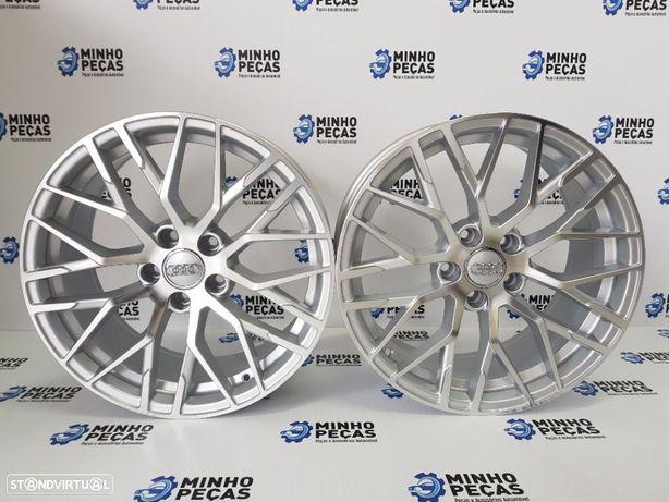 "Jantes Audi R8 em 18"" Hyper Silver"