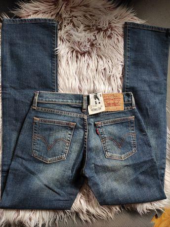 Levi's 529 jeansy damskie nowe S/36 bootcut