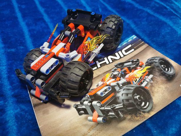 Lego 42073 Technic Czerwona wyścigówka