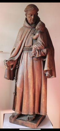 Santo Antonio S. XIX madeira arte sacra