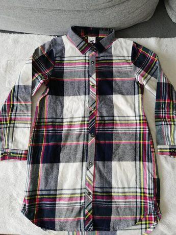 NEXT Koszula flanelowa 7 lat 122cm