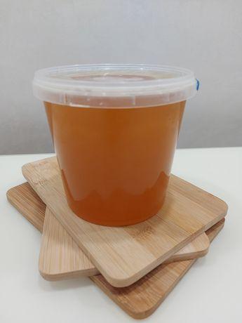 Мед натуральний. Різнотрав'я. Мальва,липа,гречка.130літр