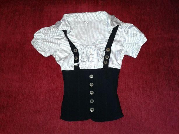 Блузка школьная корсет