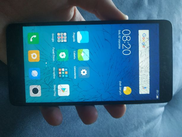 Xiaomi redmi note 3 2/16 snapdragon strzaskana szybka (nie pro)