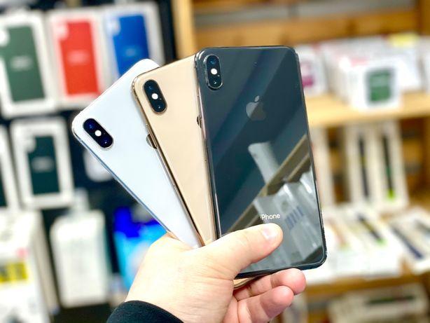IPhone Xs MAX 64/256gb все цвета Гарантия 3 месяца! магазин