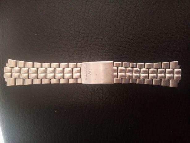 Bracelete pulseira relógio seiko original e outra BMW nova em pele