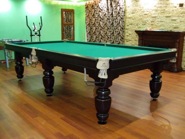 Бильярдный стол 11 футов Buffalo. Бильярд русский ардезия с комплектом