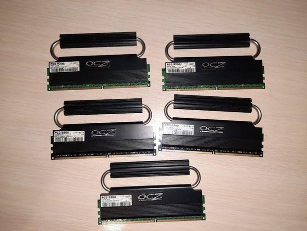ВВOCZ2RPR10664GK OCZ2RPR11504GK 2*2GB kit 4 Gb 1066 MHz pc2 8500 DDR2