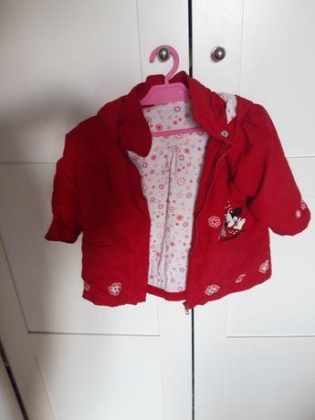 Kurtka jesienna Minnie Mouse r.80