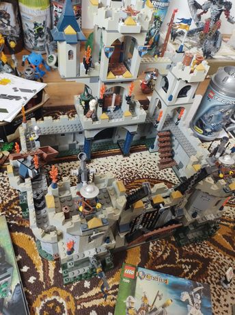 LEGO Castle zamek smok powóz kilka zestawów 7094, 7092, 7009