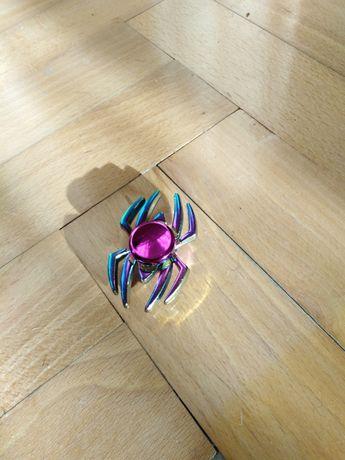 Fidget Spinner tęczowy pająk/spider