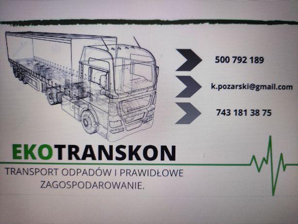 Odbiór i transport odpadów. Przewóz ADR, sprawozdania BDO