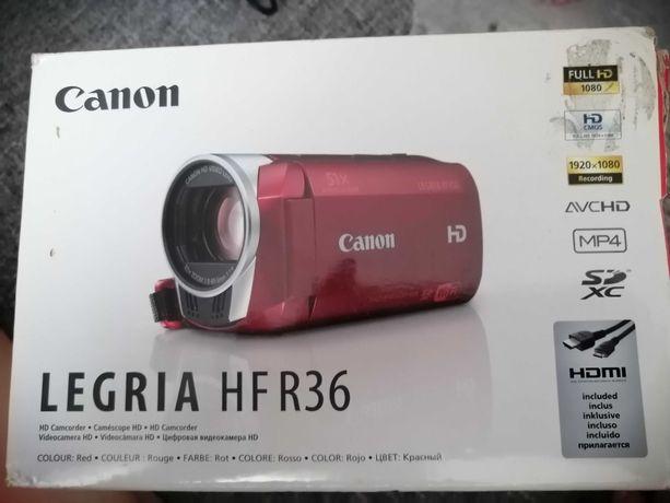NOWA kamera CANON LEGRIA HF R36 bordowa
