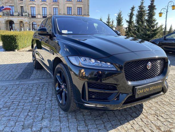 Auto do ślubu / samochód do ślubu Jaguar F-Pace R-sport