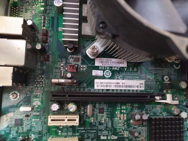 Комплект s1156 материнская плата Acer H57H-AM2 + i5 650