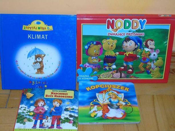 komplet ksiazeczek dla dzieci