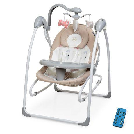 Детский шезлонг - качели 2в1 EL CAMINO ME 1028, от 0 до 18 месяцев