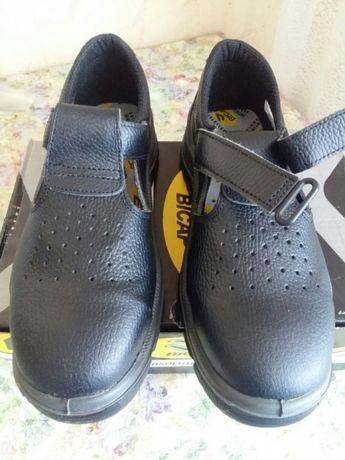 Туфли спецобувь из натуральной кожи производство Италия