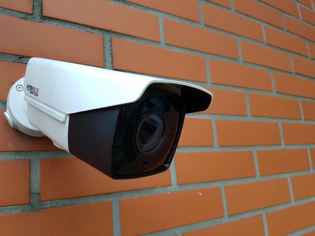 Zestaw Monitoringu 4 kamery 5 Mpx z montażem.
