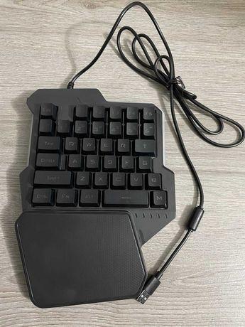 игровая клавиатура, клавиатура под одну руку
