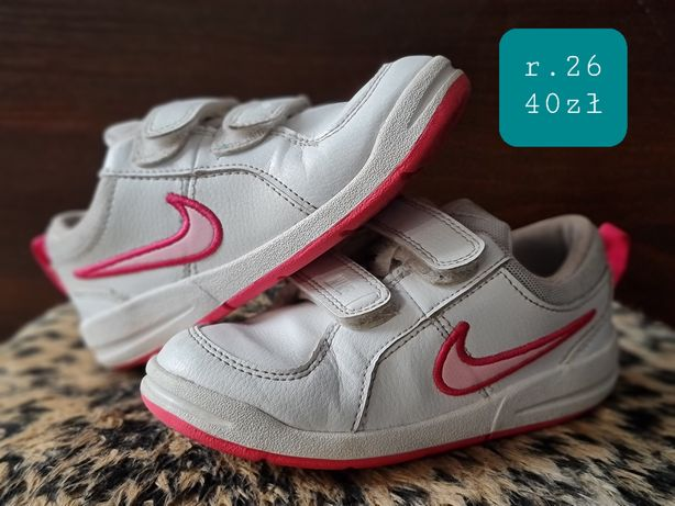 Buty dziewczęce Nike rozmiar 26