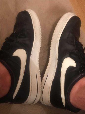 Nike Air Force pretas e brancas 42.5