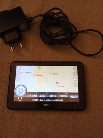 GPS NDrive Touch XXL SE com mapa da Europa,de origem