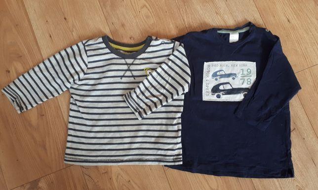 Koszulki chłopięce, długi rękaw, 3 szt., rozm. 86