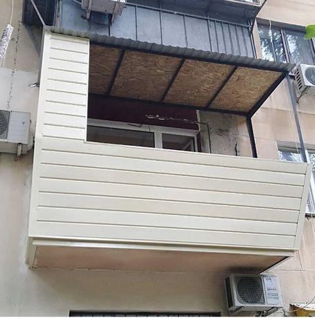 Расширение балкона-лоджии под ключ