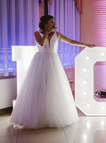 Ponadczasowa suknia ślubna Stella York 6581