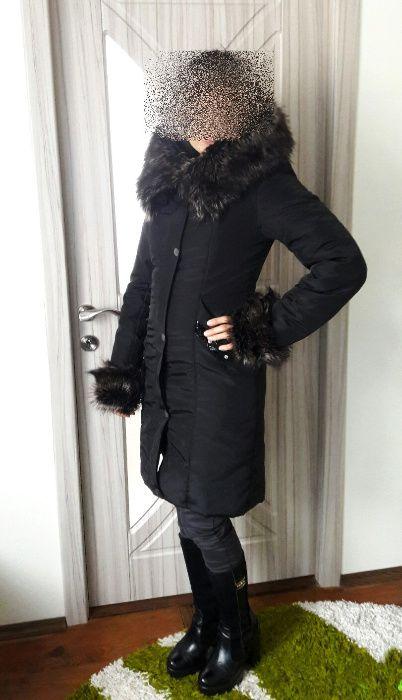 Знижка: Майже новий, дуже теплий зимовий пуховик, розмір 44 (s) Львов - изображение 1